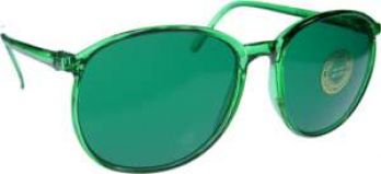 ROUND Style Color Therapy Glasses Set of 9 UV 400
