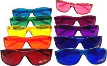 PRO Style Color Therapy Glasses Set of 10 UV 400