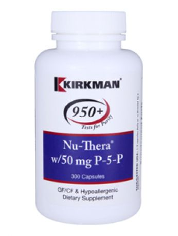 Kirkman 950+, Nu-Thera® with 50 mg P-5-P - Hypoallergenic