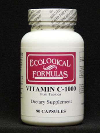 EcologicalFormulas, VITAMIN C-1000 FROM TAPIOCA 90 CAPS
