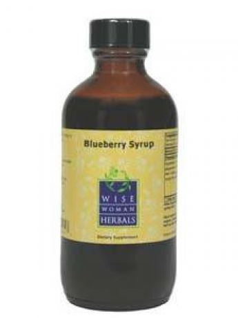 Wise Women Herbals, BLUEBERRY SYRUP 4 OZ