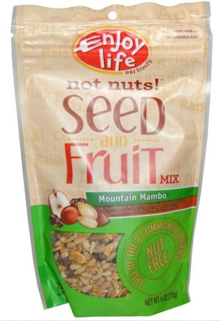 Enjoy Life Not Nuts!™ Seed & Fruit Mix, Mountain Mambo, 6 oz (170 g)