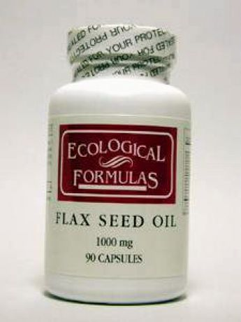 Ecological Formulas, FLAX SEED OIL 90 GELS