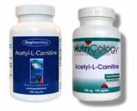ARG`s Acetyl-L-Carnitine Free Form Amino Acid (Hypoallergenic) 500 mg 100 Capsules
