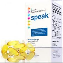 SpeechNutrients's Speak standard pack 60 softgels