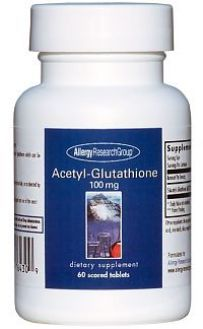 ARG's Acetyl-Glutathione 100 mg 60 Tablets