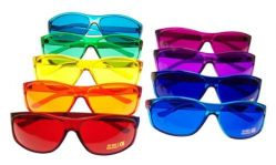 PRO Style Color Therapy Glasses Set of 9 UV 400