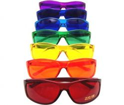 PRO Style Color Therapy Glasses Set of 7 UV 400