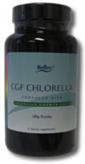 BioPure`s Chlorella Growth Factor 500 mg 100 Capsules