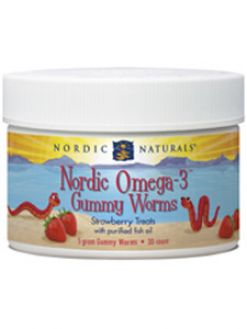 Nordic Naturals OMEGA-3 WORMS 30 WORMS