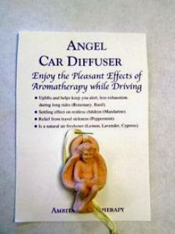 ANGEL CAR DIFFUSER - CERAMIC