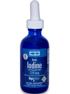 Trace Minerals Research, IONIC IODINE FROM POTASSIUM IODIDE 2 OZ