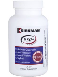 Kirkman 950+ Child Multi-Vit/Min w/ Xylitol 120 chews