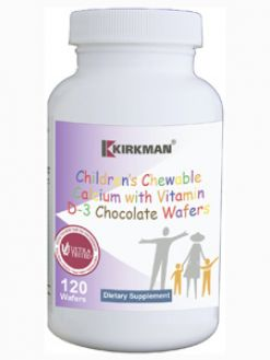 Kirkman 950+ Children's Calcium w/D-3 Choc 120 wafers