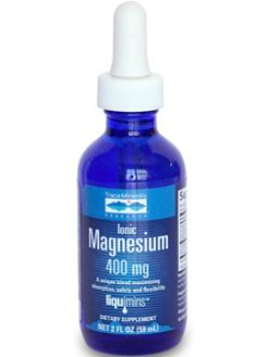 Trace Minerals Research, Magnesium Ionic, 2 oz