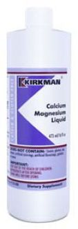 Kirkman's Calcium/Magnesium Liquid 473 ml 3 box value pack