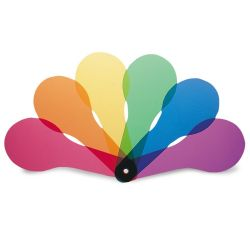 Learning Resources Color Paddles, Set of 18
