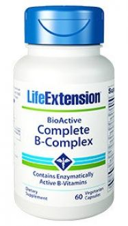 Life Extension, BioActive B-Complex, 60 capsules