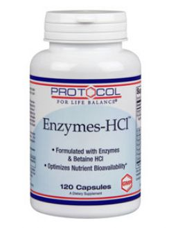 Protocol For Life Balance, ENZYMES-HCL™ 120 CAPS