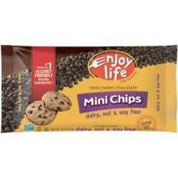 Enjoy Life Foods Soy Free* Chocolate Chips 10 oz (~295 ml)