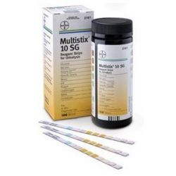Bayer Multistix® 10 SG Reagent Strips 100 pcs