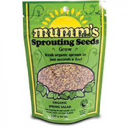 Mumm's Spring Salad Certified Organic Sprouting Seeds 1 kg