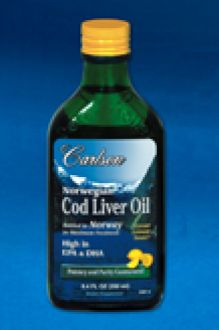 Carlson`s Cod Liver Oil Lemon Flavor 250 ml
