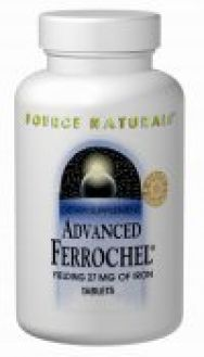 SN`s Advanced Ferrochel Yielding 27 mg Iron 180 tabs