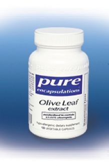 Pure`s Olive Leaf extract 500 mg 120 vcaps