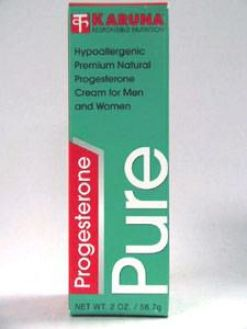 Karuna`s Progesterone Pure cream 2 oz tube