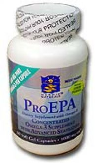 Nordic Natural`s Pro-EPA Omega-3 Supplement 60 Capsules