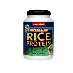 Nutribiotic`s Rice Protein Vegan Plain 1 Lb. 5 oz (~600 gr)